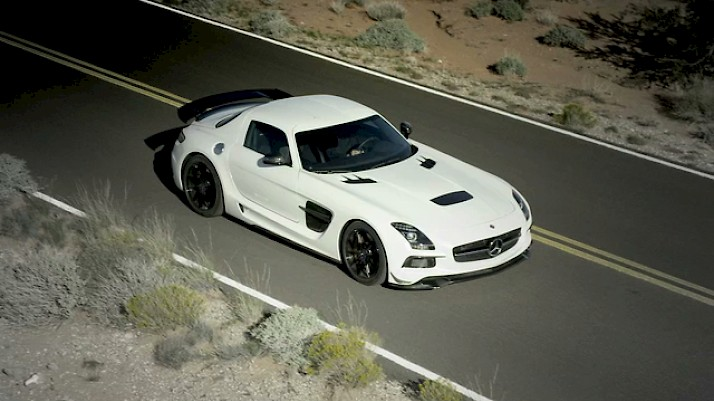 Mercedes Benz SLS BlackSeries